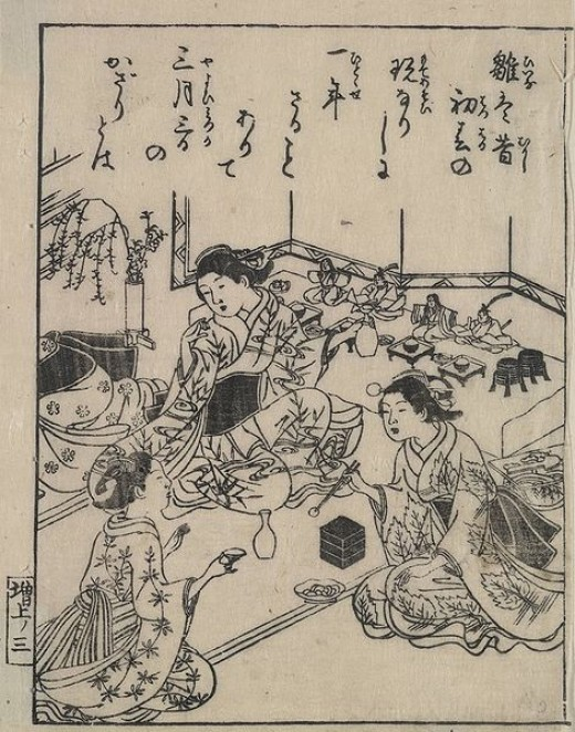 18th century Ukiyo-e woodcut