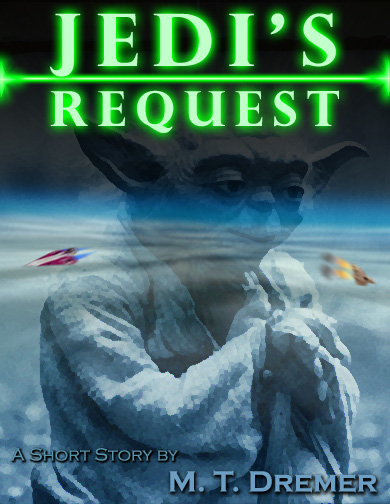This is the cover I made for my Star Wars Fan Fiction.
