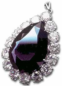 Famous Amsterdam Black Diamond - 55.85 carats