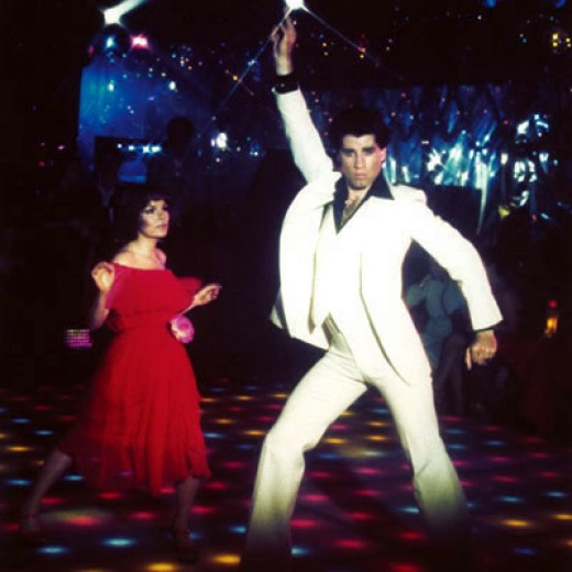 Grace Davies and John Travolta in Saturday Night Fever