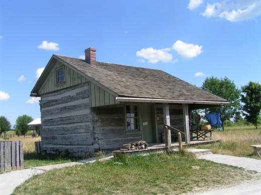 Eicher cabin (1850s)