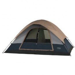 Wenzel Ponderosa 10- by 8-Foot Four-Person Two-Room Dome Tent