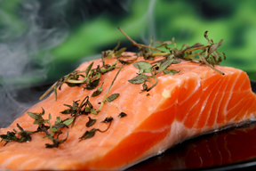 Omega-3 fatty acids in foods such as wild salmon are a very healthy addition to an anti-inflammatory diet.