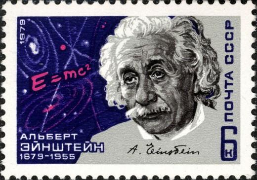 Albert Einstein 1979 USSR Stamp