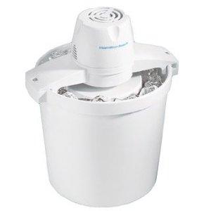Hamilton Beach 68330R 4-Quart Automatic Ice-Cream Maker