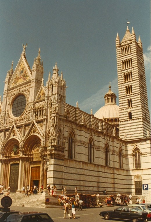 Siena, Italy, Cathedral.