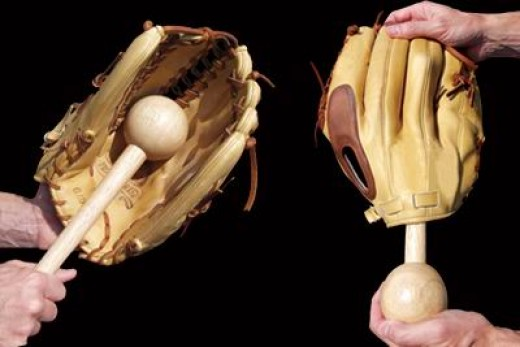 Glove mallets are like playing catch with your glove and will help you break in your baseball glove just like it would occur naturally.