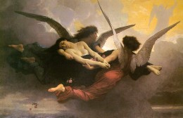 A Soul Brought to Heaven  William-Adolph Bouguereau