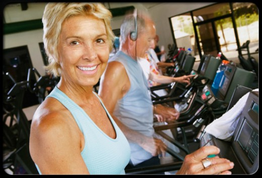 Low-impact aerobics strengthen your bones and muscles