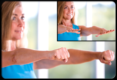 Finger extensions help keep your hand and fingers flexible.