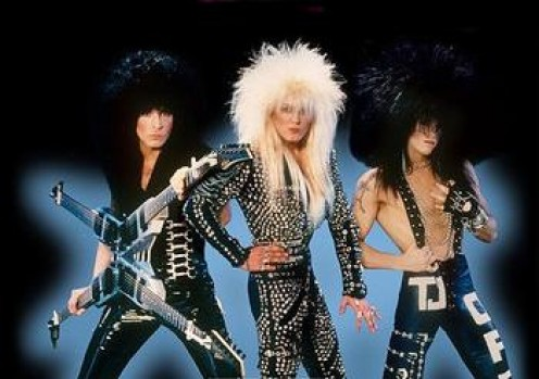 Glam Metal...are they being facetious?
