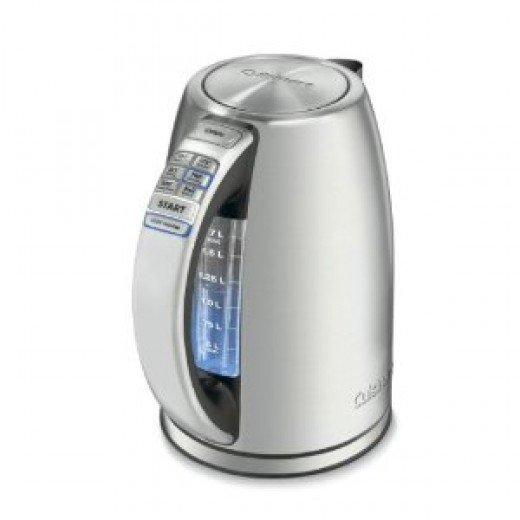 Cuisinart CPK-17 PerfecTemp 1-2/3-Liter Stainless-Steel Cordless Electric Kettle