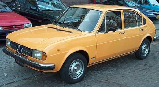 An Alfa Romeo Alfasud