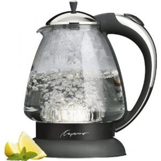 Capresso H2O Plus Glass Water Kettles