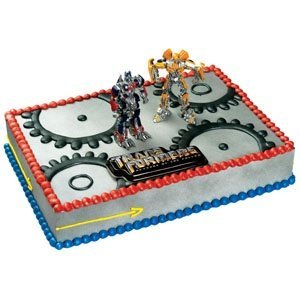 Cake decorting is made very easy by using a pre-made Transformers cake topper. Choose from several designs and create a professional looking dessert.