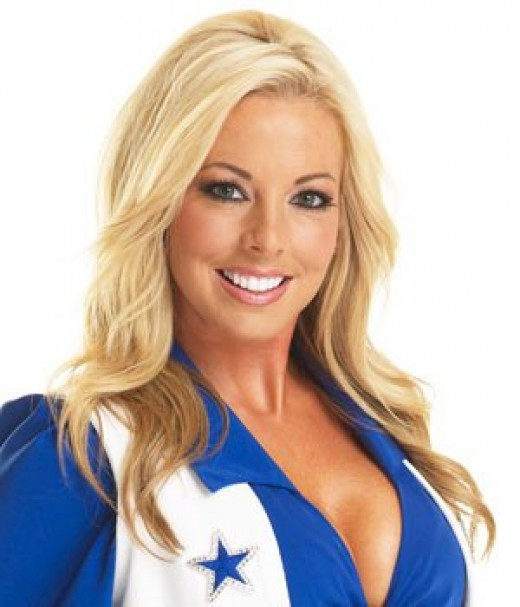 Be a nfl cheerleader just for a day!