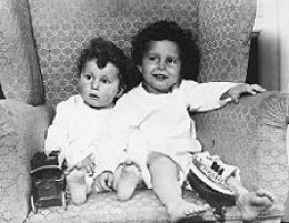 "Edmond and Michael Navratil, the so-called ""Orphans of the Titanic..""photo courtesy Titanic Gazette@google."