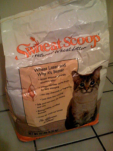 Swheat Scoop Clumping Cat Litter