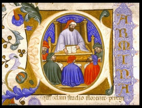 Boethius teaching