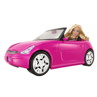 Get ready for life in the pink lane with this super-stylin' roadster!