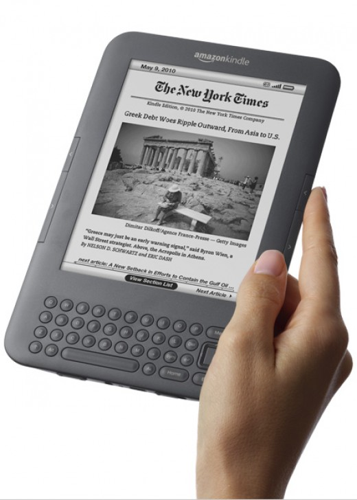 Amazon Kindle Best Christmas Gift 2010