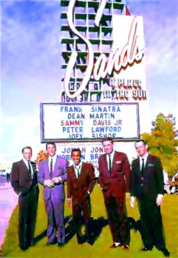 Rat Pack in the day...