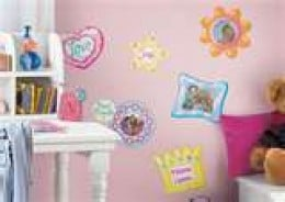 Make any room beautiful with peel and stick wall decor
