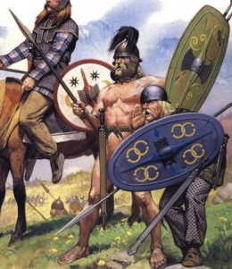 German warriors