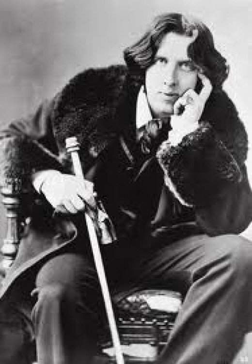 Oscar Wilde. This rabid homosexual heterophobe ruined the life of the unfortunate  Marquis of Queensberry.