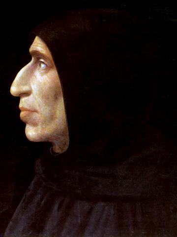 Girolamo Savonarola. Image from Wikipedia