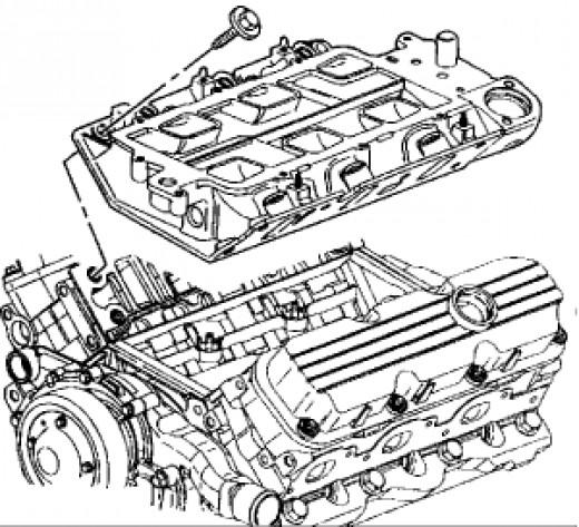 GM 3800 intake