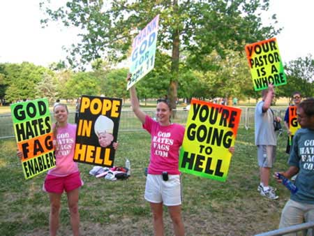 These people do not represent the Christian population even though they claim to.