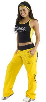Zumba Fitness exercise clothes