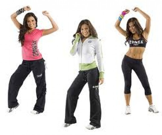 Zumba Clothing Tops