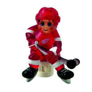 sports theme night light - hockey player