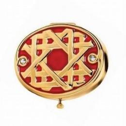 Golden Lattice Estee Lauder Compact