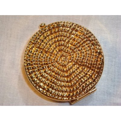 Estee Lauder Golden Pebbles Powder Compact