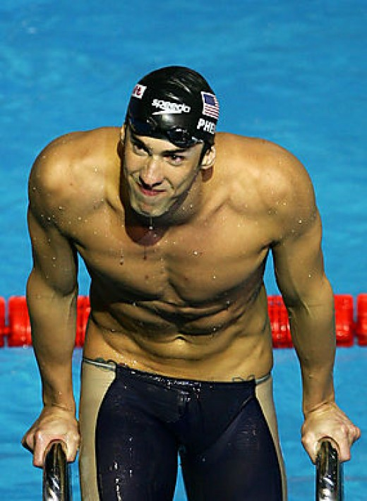 Michael Phelps workout