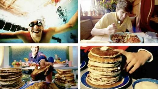 Phelps eats like a champion.