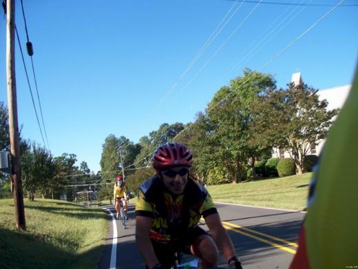 Kent in Bahama on Eric & Cynthia's Ride