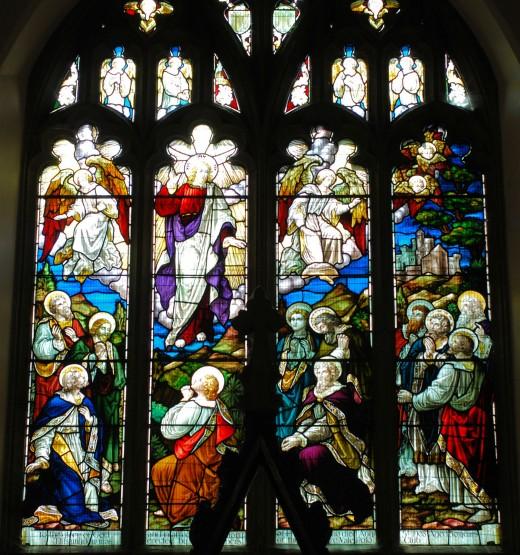 Stained Glass Window Stalbridge Dorset