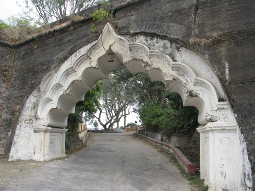 Nandi Hills Fort Entrance