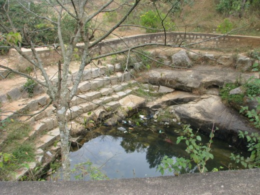 Arkavathi River originates here atop Nandi Hill