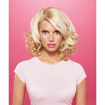 Jessica Simpson and Ken Paves teamed up to give buyers replica hairstyles of the famous starlet.