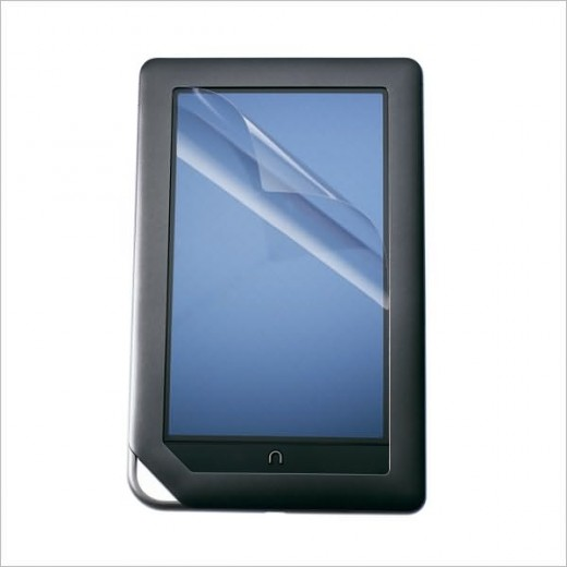 The initially leaked image of the Nook Color (source:Cnet)