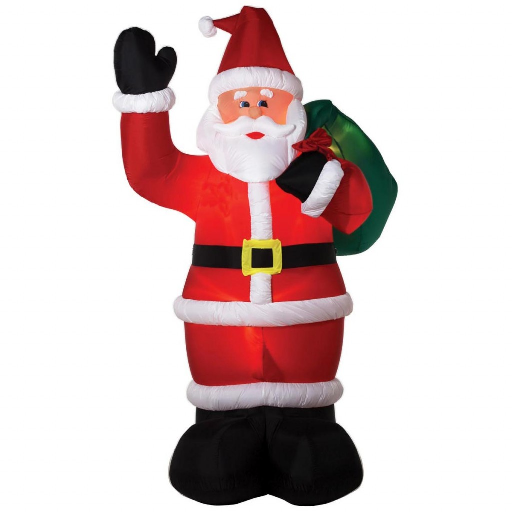 Fun inflatable christmas yard decorations for Fun decorations for christmas