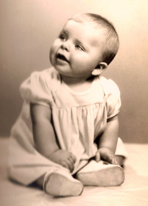 Picture of me as a little one.