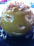 Baked Apples Recipe - Shrunken Heads and Faces for Halloween