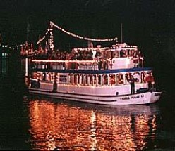 Christmas Light Boat Parades in California