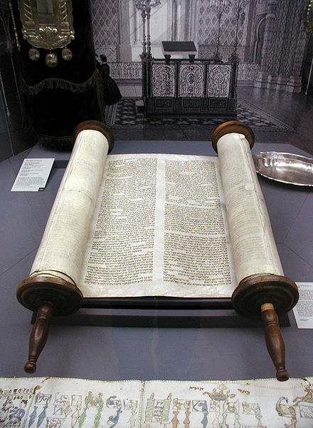 "The ""TORAH"" Scroll (The 5 Books of Moses)"